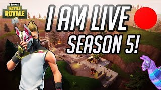 ✅ Q&A WHILE WAITING FOR SERVERS - TOP XBOX FORTNITE PLAYER (OLD SCHOOL) -  NEW MAP NEW SKINS!