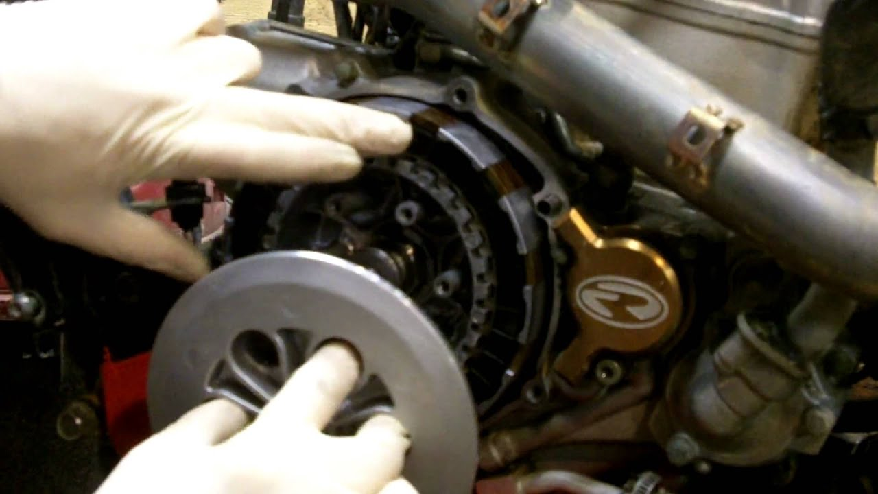 Changing a Clutch on your ATV or Dirtbike  YouTube