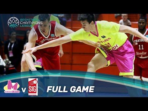 Mega Leks v SIG Strasbourg - Full Game - Basketball Champions League