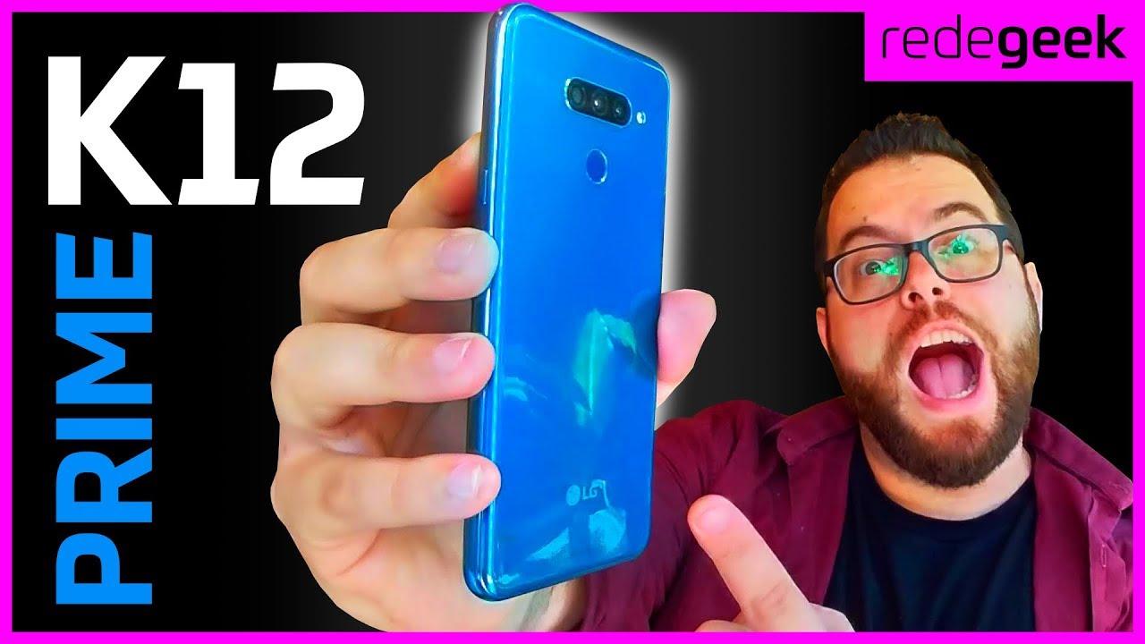 Smartphone LG K12 Prime 64GB Azul 4G Octa Core - 3GB RAM | [RESUMÃO]