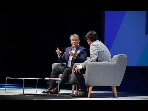 Conferencia del Presidente Iván Duque 'The Orange Economy: How Ideas are the New Oil'