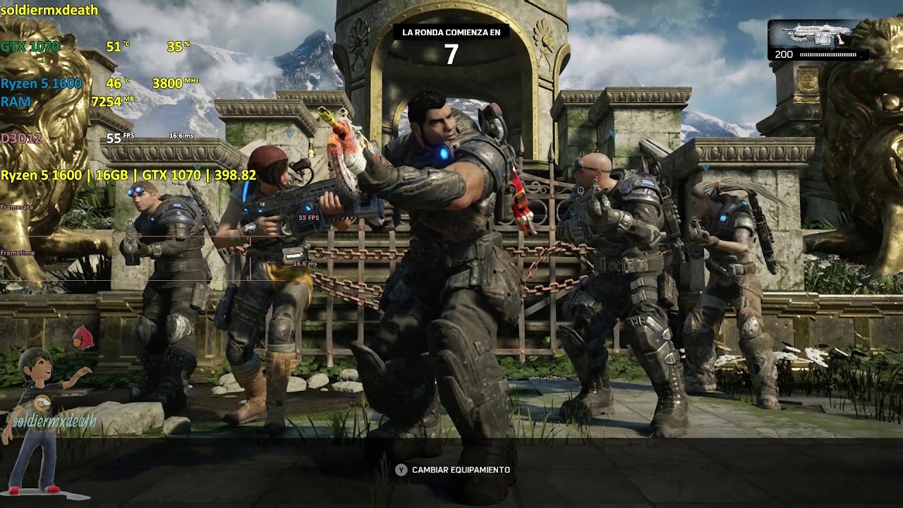 Gears of War 4 PC issues August 2018