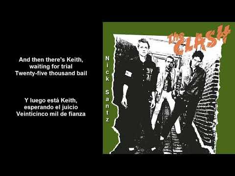The Clash -Jail Guitar Doors (Lyrics) (Subtitulos en español)