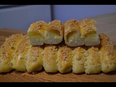 Пирожки из дрожжевого заварного теста - кулинарный рецепт
