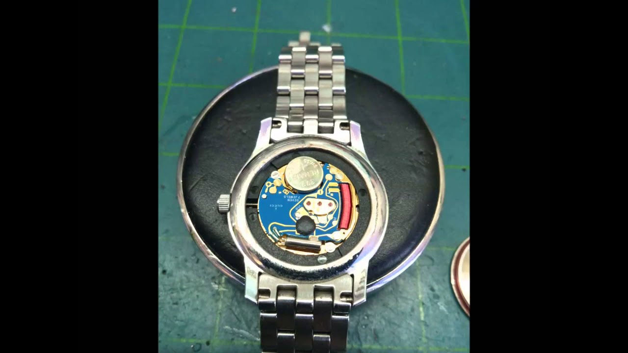 5500l gucci watch battery replacement youtube for Watches battery