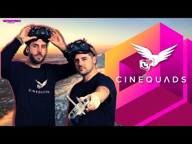 Geld verdienen mit Drohnen? FPV Copter fliegen für kommerzielle Drehs - Cinequads im Interview