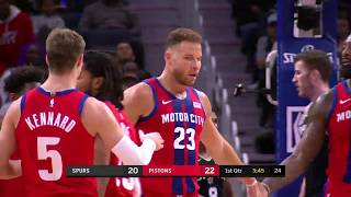 Detroit Pistons vs San Antonio Spurs | December 1 2019