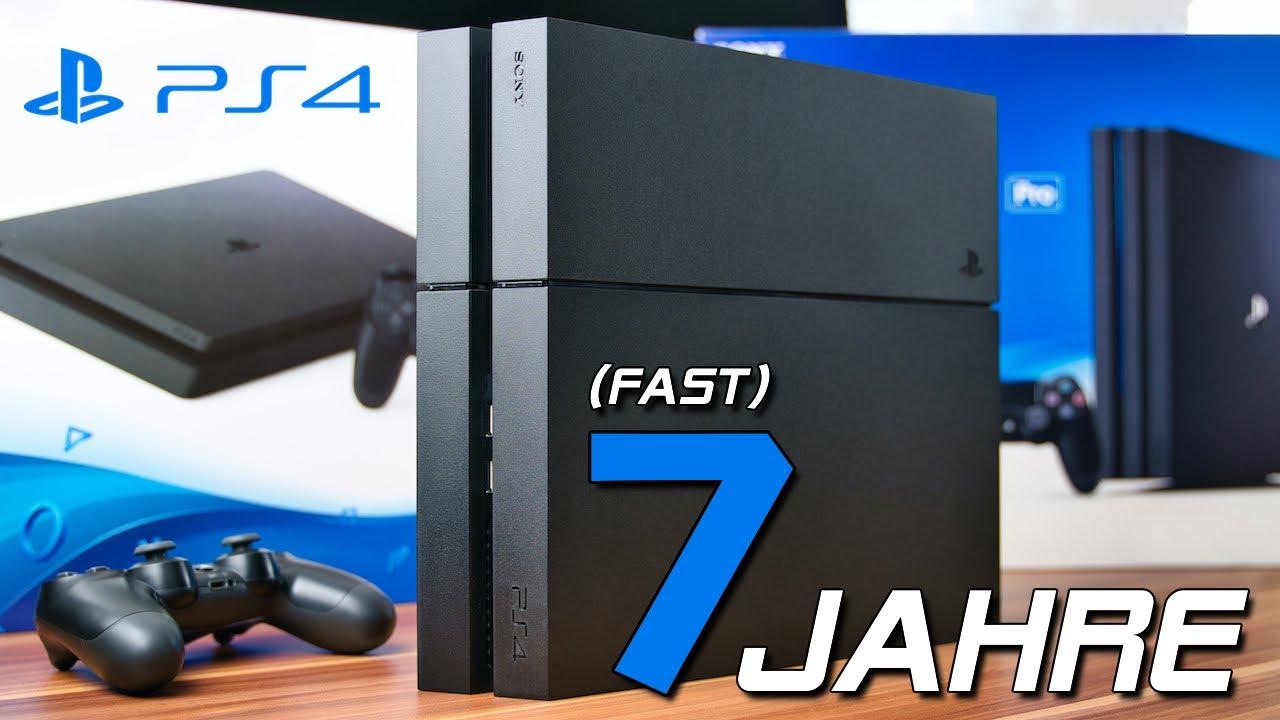 PlayStation 4 - Ein Rückblick nach (fast) 7 Jahren