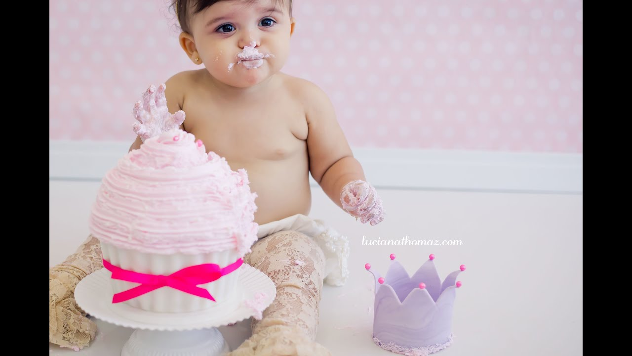 Préférence Smash The Cake {Isabela * 1 aninho} - YouTube RQ36