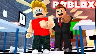 I GOT KICKED out OF SCHOOL at ROBLOX!