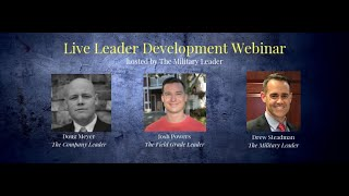 Live Leader Development Webinar (10-28-18)