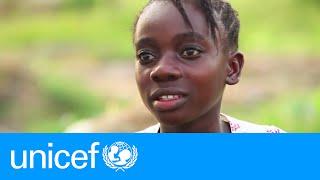Liberian girl orphaned by Ebola starts a new life | UNICEF