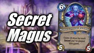 Hearthstone Secret Mage Insanely Fun Deck Cobrak
