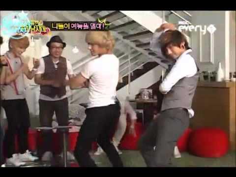 Idols Do The Brown Eyed Girls  Abracadabra Hip Dance