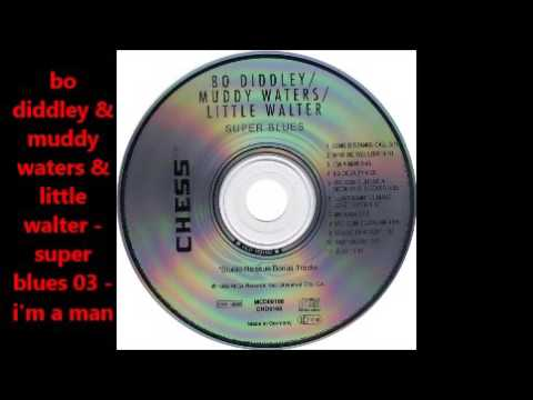 Bo Diddley & Muddy Waters & Little Walter   Super Blues  full album..db