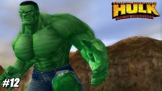 The Incredible Hulk: Ultimate Destruction - PS2 Gameplay Playthrough 1080p (PCSX2) PART 12
