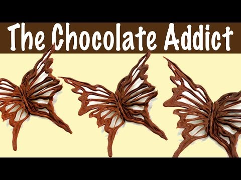 Chocolate Decorations - How to Make a Chocolate Butterfly from YouTube · Duration:  2 minutes 8 seconds