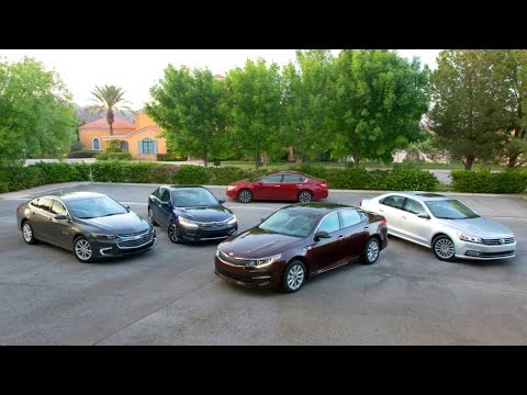 2016 Midsize Sedan Comparison Kelley Blue Book