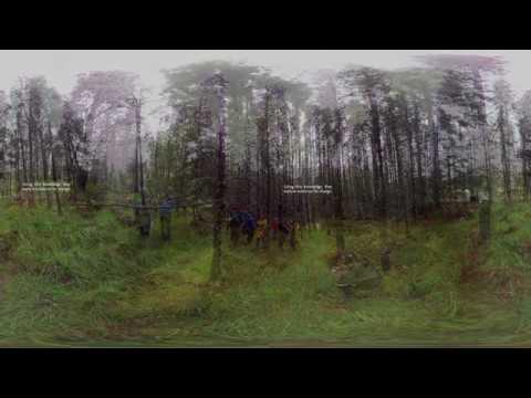 360 video ETH Zurich Conservation Management field course in Scotland 2017