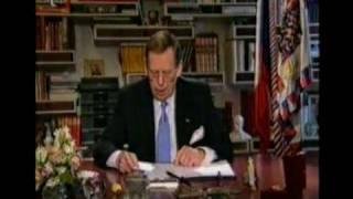 Václav Havel - Novoroční projev 1999