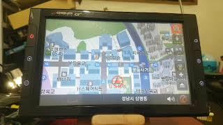 아이나비 G1+ 네비게이션 GPS 수신 테스트
