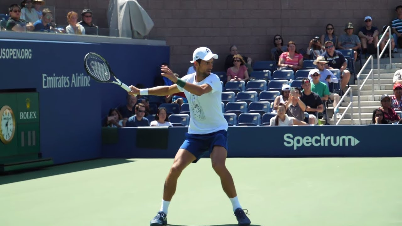 Novak Djokovic Forehand Slow Motion Video Love Tennis
