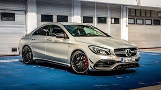 Updated 2017 Mercedes-AMG CLA45 preps to welcome Audi RS3 to America