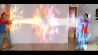parodia dragon ball z venganza de mario bros vs kameha de goku parte 1