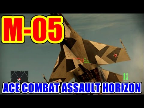 [M-05] Blue on Blue - ACE COMBAT ASSAULT HORIZON [USB3HDCAP,StreamCatcher]