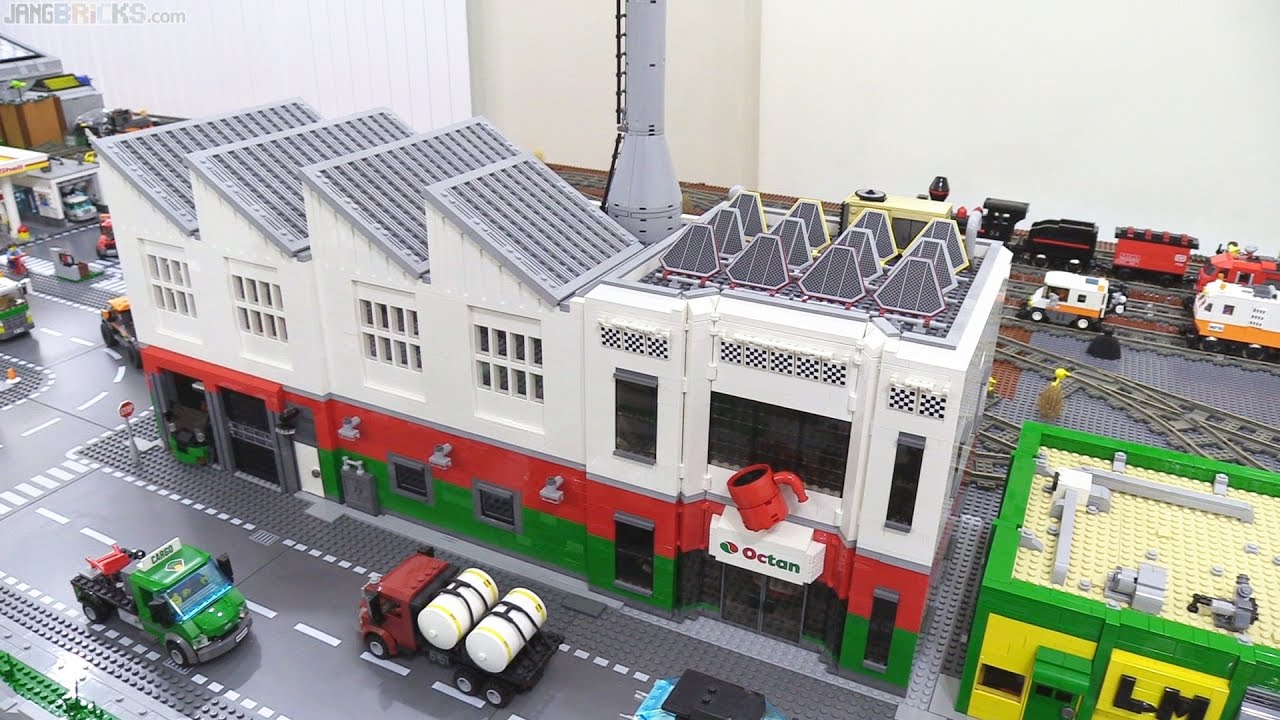 lego city update octan factory moc is in mar 31 2017 youtube