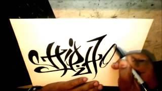 Как рисовать граффити(hip hop)(Grafiti., 2013-12-10T14:45:53.000Z)