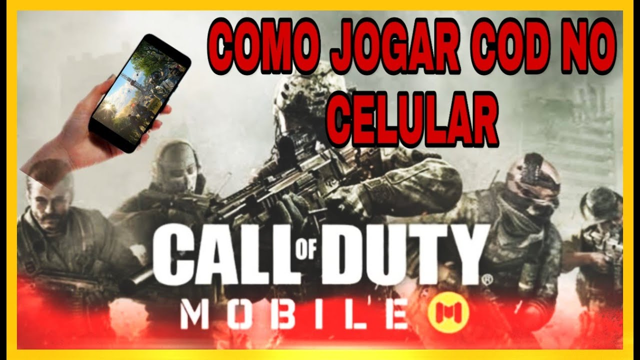 CALL OF DUTY MOBILE - COMO BAIXAR E INSTALAR - PT-BR + GAMEPLAY