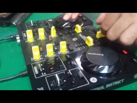 Scratch on Hercules DJControl Instinct with VirtualDJ Pro