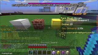 MInecraft, Rankup, FullPvP, Maquinas, ItensGOD, Spawners