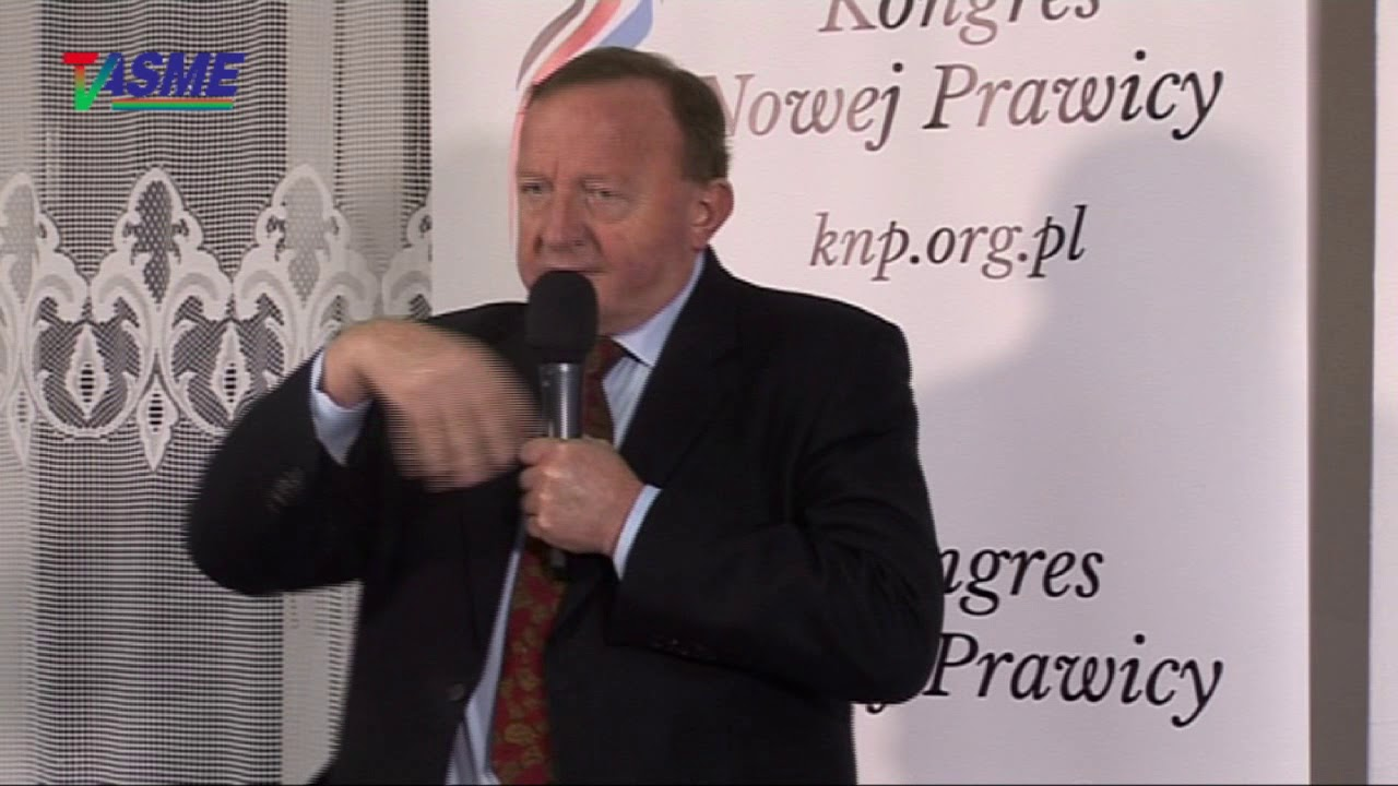Państwo partyjne czy obywatelskie? – Stanisława Michalkiewicza wykład w Wołominie, 12.12.2017