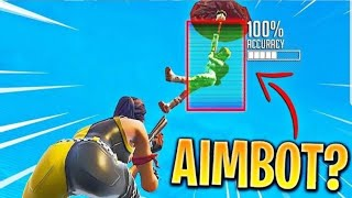 HOW TO HAVE AIMBOT CROSSHAIRS AT FORTNITE-ADVANCED TIPS!!