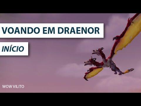 Voando em Draenor ( Nova montaria )