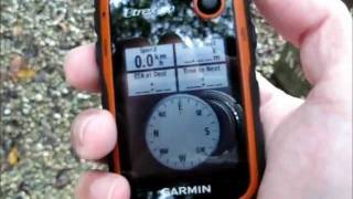 Garmin eTrex 20 unboxing and quick demonstration