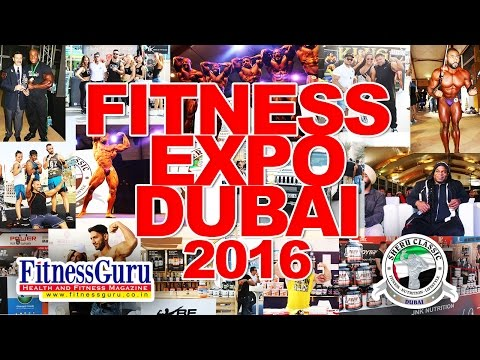 Bodybuilding and Fitness Expo Dubai 2016