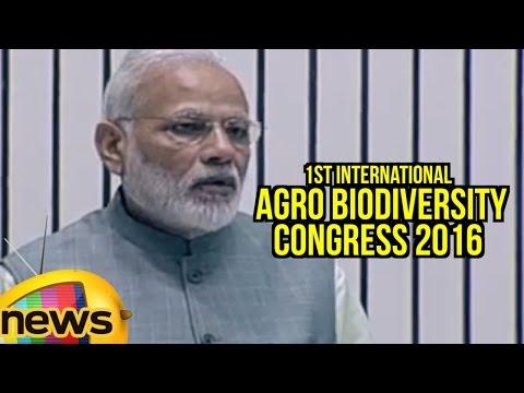 PM Modi Full Speech At 1st International Agro Biodiversity Congress 2016 Inauguration   Mango News