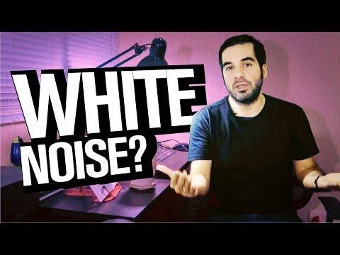 La extraña fascinación por el ruido blanco (sonido)