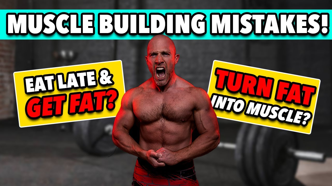 FACT OR FICTION!   Things To AVOID When Trying To Build Muscle!