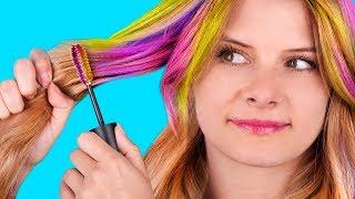 Die 14 Einfachsten Frisurenhacks Für Anfänger / Schöne & Easy