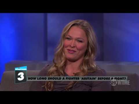 Ronda Rousey habla de su vida sexual, antes de cada pelea.