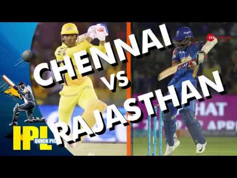IPL 2018: Match Preview of Chennai and Rajasthan