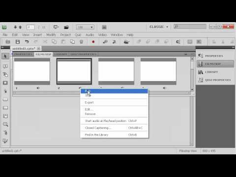 A quick look at text to sch in Adobe Captivate 5