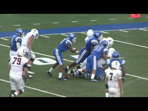 Highlights Of CCSU Vs. Lafayette Football - 9-2-16