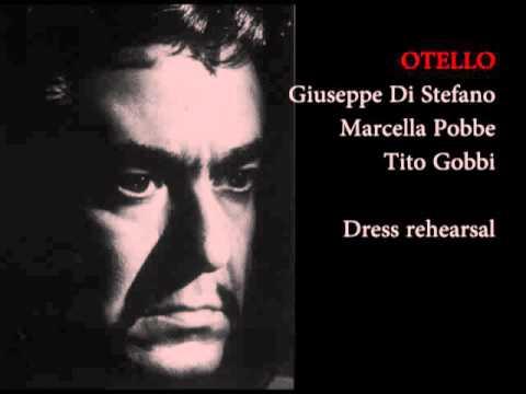 Giuseppe di Stefano OTELLO rehearsal tape