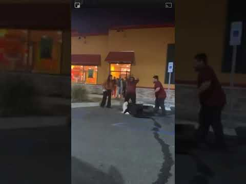 Mike Trivisonno - Popeye's Customer Assaulted By Employee; WARNING GRAPHIC VIDEO