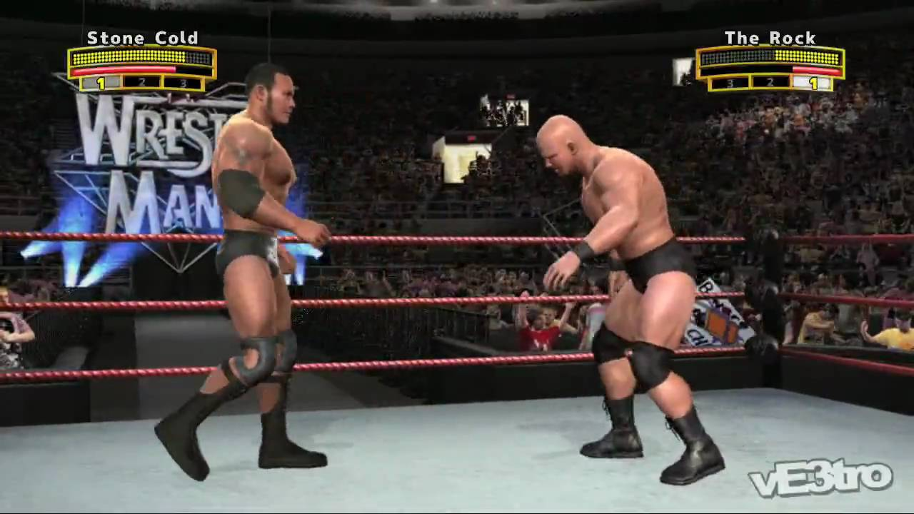 Wwe Legends Of Wrestlemania Stone Cold Vs The Rock Gameplay Hd 720p Youtube